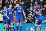 """""""Leicester City"""" namuose sutriuškino dešimtyje rungtyniauti likusį """"Arsenal"""""""