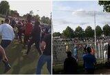Futbolo išsiilgę prancūzai pašėlo – 400 žmonių subėgo į aikštę nelegaliose rungtynėse