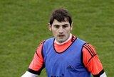I.Casillasas pripažintas geriausiu metų vartininku