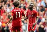 """Po greito įvarčio atsitiesę """"Liverpool"""" užtikrintai įveikė """"Newcastle United"""""""