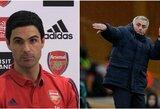 """J.Mourinho pašiepė naująjį """"Arsenal"""" trenerį: """"Geriausi tie, kurie neturi pralaimėjimų"""""""