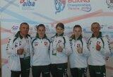 Pasaulio moterų bokso čempionate lietuvės liko be pergalių