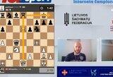 Šachmatų karantinas nesustabdė – elitiniai lietuviai susirinko internetiniame čempionate