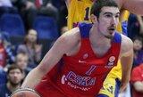 "CSKA puolimo banga suniokojo ""Banco di Sardegna"" uostą"