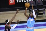 "V.Oladipo vedė ""Rockets"" į ketvirtą pergalę iš eilės"