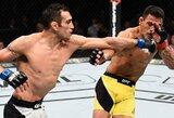 Devinta pergalė iš eilės: T.Fergusonas palaužė buvusį UFC čempioną R.dos Anjos
