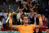 Pergalę Madride iškovojęs R.Nadalis pagerino 34-erių metų senumo J.McEnroe rekordą