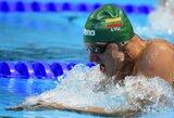 G.Titenis užtikrintai pateko į Europos plaukimo čempionato finalą