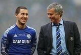 E.Hazardas pripažino, jog ir vėl norėtų dirbti kartu su J.Mourinho
