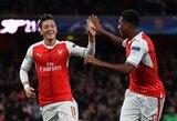 """M.Ozilo agentas: """"Jo ateitis yra """"Arsenal"""" gretose ir tai yra istorijos pabaiga"""""""