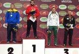 M.Knystautas dramatiškai iškovojo Europos jaunimo imtynių čempionato bronzą