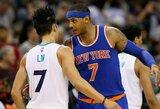 "C.Anthony: ""Dabar J.Linas – ""Nets"" ekipos veidas"""