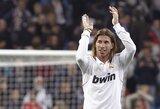 """S.Ramosas """"Futbole nėra laiko dėl kažko gailėtis"""""""