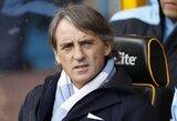 """R.Mancini: """"Z.Ibrahimovičiaus pirkti nesiruošiame"""""""