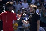 """Latvis E.Gulbis baigė istorinį pasirodymą """"Australian Open"""", R.Nadalis lengvai pateko į aštuntfinalį"""