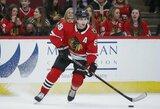 Dešimt metų pasaulio čempionate nežaidusi NHL žvaigždė svarsto apie prisijungimą prie JAV rinktinės