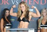 Nesantaika tarp dviejų buvusių UFC gražuolių: M.Tate nesisveikintų su R.Rousey