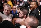 """Nevados atletikos komisija įvardijo ir daugiau įtariamųjų dėl incidento """"UFC 229"""" turnyre"""
