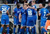 """Hoffenheim"" susitvarkė su ""Schalke"" futbolininkais"