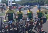 Europos MTB XCO čempionate – šeši Lietuvos atstovai