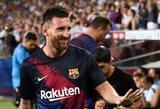 """""""Barcelona"""" praradimas: L.Messi nedalyvaus ir rungtynėse su """"Valencia"""""""