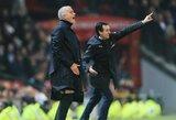 """J.Mourinho pasiuntė žinutę atleistam U.Emery: """"Jokių dramų, mano drauge, susirasi kitą klubą"""""""