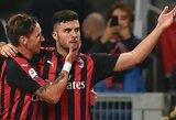 """Rezultatyviose rungtynėse """"AC Milan"""" įveikė """"Sampdoria"""""""