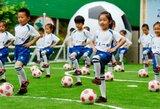 Kinija ketina auginti elitinius žaidėjus: planuojama šimtai į futbolą orientuotų pradinių mokyklų ir darželių
