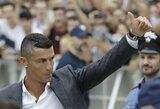 Įspūdingi arbatpinigiai: Graikijoje atostogavęs C.Ronaldo viešbučio darbuotojams paliko beveik 18 tūkst. svarų