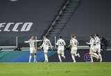 """C.Ronaldo dublis padovanojo """"Juventus"""" vietiniame čempionate ketvirtąją pergalę"""