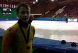 S.Ramanauskas dalyvavo finaliniame Europos greitojo čiuožimo trumpuoju taku taurės etape