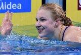 R.Meilutytė jau atrankoje pasiekė antrą geriausią sezono rezultatą pasaulyje