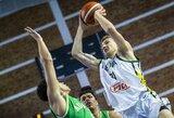 Užtikrintai su australais susitvarkiusi Lietuvos devyniolikmečių rinktinė pateko į pasaulio čempionato ketvirtfinalį