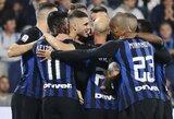 """M.Icardi dublis padovanojo """"Inter"""" penktąją pergalę Italijos čempionate"""