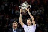 R.Federeris po metų pertraukos gimtinėje susigrąžino nugalėtojo titulą