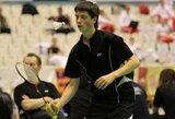 Lietuviai baigė savo pasirodymą badmintono turnyre Airijoje