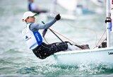 Olimpiniuose Japonijos vandenyse – V.Andrulytės startas pasaulio taurėje