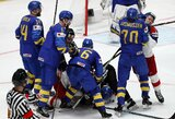 Įspūdinga pergalių serija baigėsi: pasaulio čempionams švedams – čekų antausis