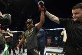 """""""UFC 251"""" medikų išvados: K.Usmanas suspenduotas pusmečiui, R.Namajunas – mėnesiui"""