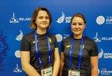 Šaulės G.Rankelytė ir J.Ždanova į Europos žaidynių finalą nepateko