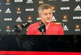 """O.G.Solskjaeras tikisi """"Man United"""" klube pritaikyti S.A.Fergusono naudotą filosofiją: """"Jis buvo mano mentorius"""""""