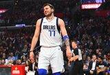 """Su 20-uoju, Luka! Kaip """"Mavericks"""" fenomenas perrašė NBA paauglių rekordus"""