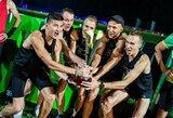 Bėgikai savo greitį išbandė netradiciniame renginyje