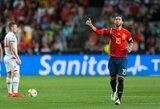 Dideli planai: S.Ramosas sieks sužaisti 200 rungtynių Ispanijos rinktinėje