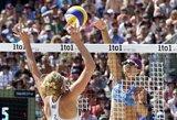 Lietuviai pergalingai pradėjo pasaulio jaunių paplūdimio tinklinio čempionatą (komentarai)