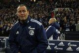 "Darbo neteko ""Schalke"" klubo treneris"