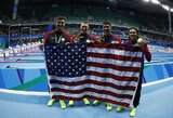Aštuntą olimpiados dieną krito olimpiniai rekordai, M.Phelpsas iškovojo penktą aukso medalį (atnaujinta)