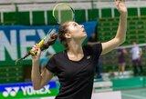 Badmintono turnyre Izraelyje V.Fomkinaitė nepateko į finalą