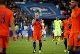 """A.Robbenas traukiasi iš rinktinės, tačiau nepraranda optimizmo: """"Olandijos ateitis yra šviesi"""""""