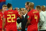 """Belgijos rinktinės treneris R.Martinezas: """"Žaidėjų atsidavimas buvo puikus, negalėčiau prašyti daugiau"""""""